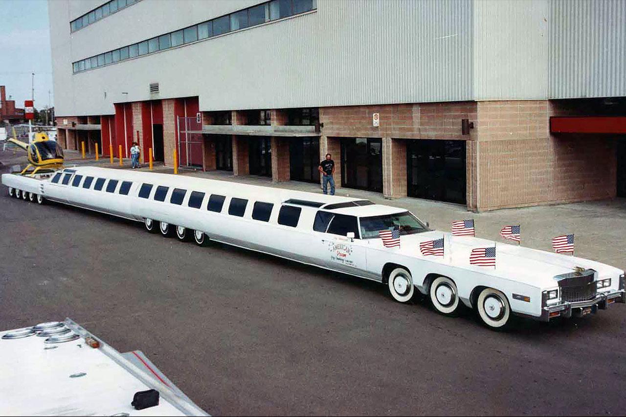 top des records automobiles les plus dingues du monde la voiture la plus longue du monde l 39 argus. Black Bedroom Furniture Sets. Home Design Ideas