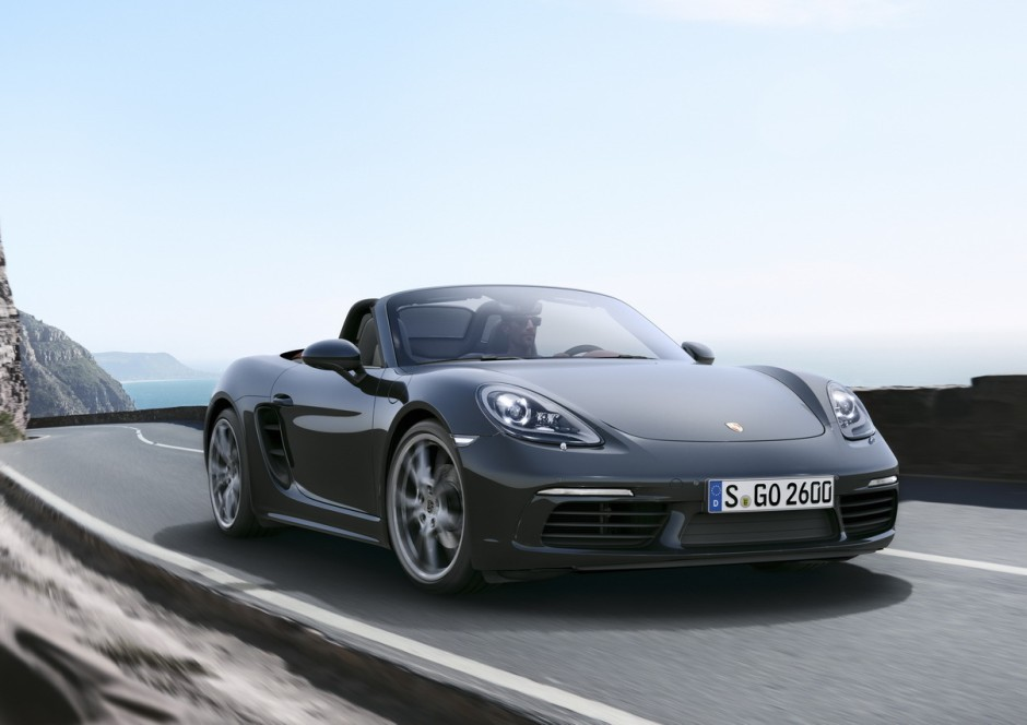 porsche 718 boxster prix fiche technique et images des 4 cylindres photo 1 l 39 argus. Black Bedroom Furniture Sets. Home Design Ideas