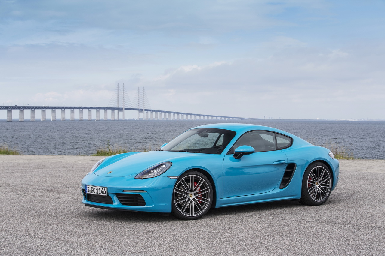 notre essai de la porsche 718 cayman s en 30 photos le cayman devient 718 cayman l 39 argus. Black Bedroom Furniture Sets. Home Design Ideas