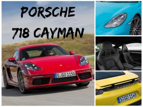 photo porsche 718 cayman 2016