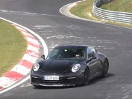 La nouvelle Porsche 911 (2018) surprise sur le « ring »