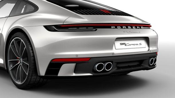 La 992 arrive en concession avant la présentation officielle Porsche-911-992-pack-sport-design-detail-arriere