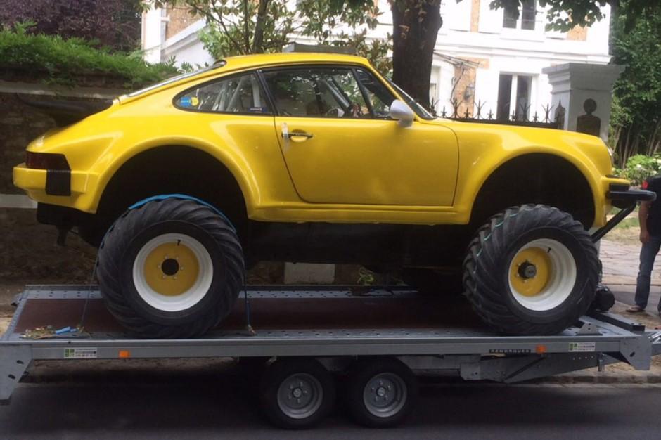 porsche 911 une version monster truck vendre photo 2 l 39 argus. Black Bedroom Furniture Sets. Home Design Ideas