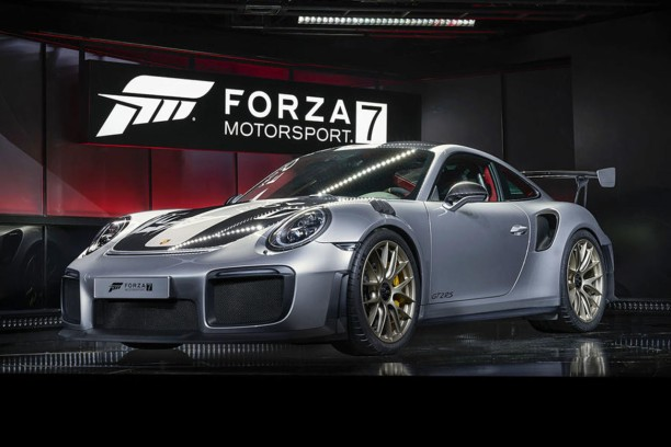 la porsche 911 gt2 rs r v l e l 39 e3 avec le jeu forza motorsport 7 l 39 argus. Black Bedroom Furniture Sets. Home Design Ideas