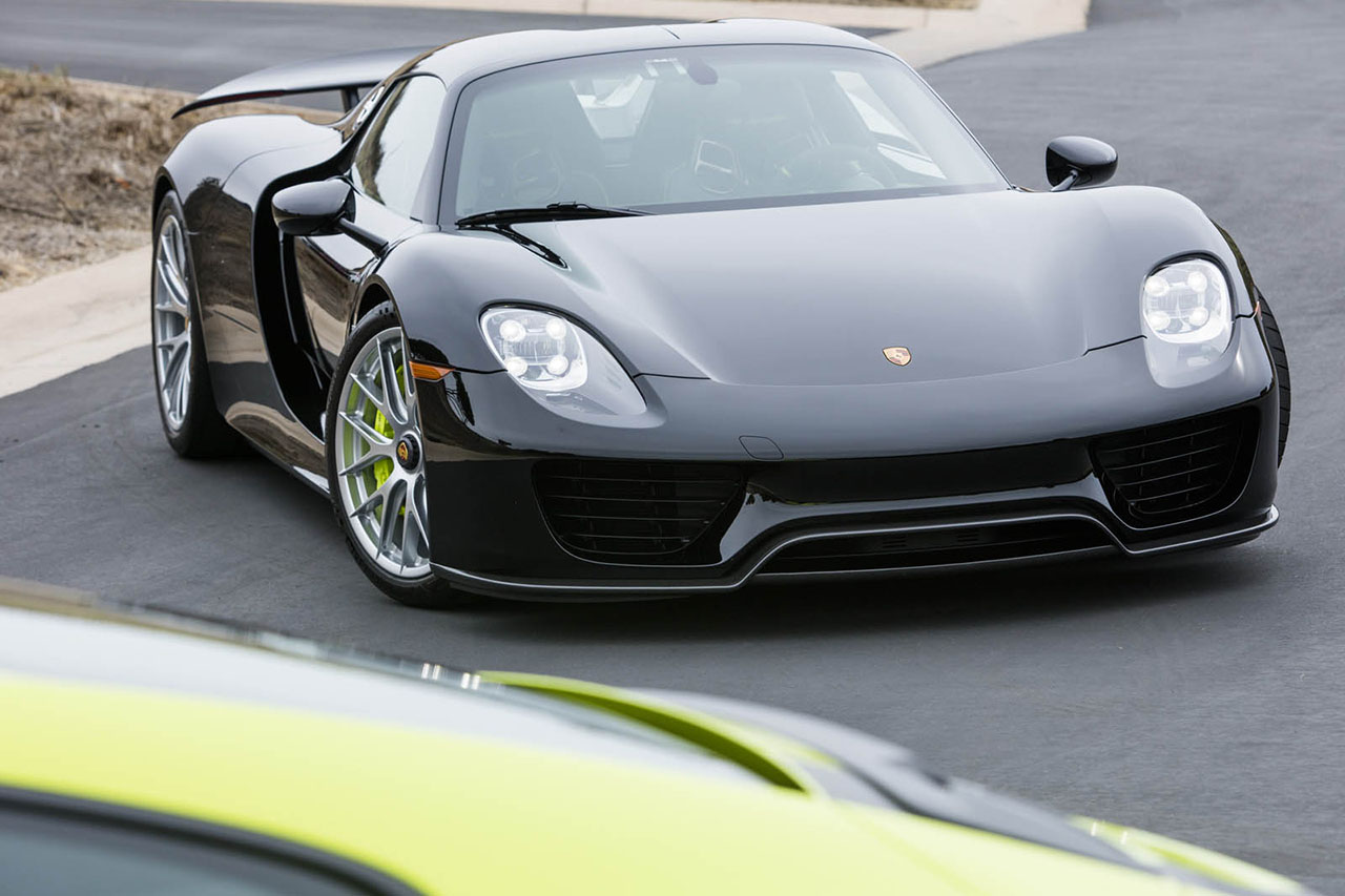 deux porsche 918 spyder et 911 r assorties vendre photo 16 l 39 argus. Black Bedroom Furniture Sets. Home Design Ideas
