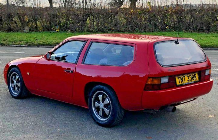 Porsche 924 Une Rarissime Version Shooting Brake En Vente L Argus