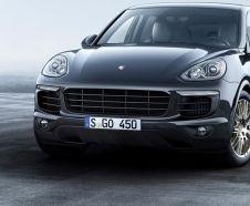 Porsche Cayenne vue avant
