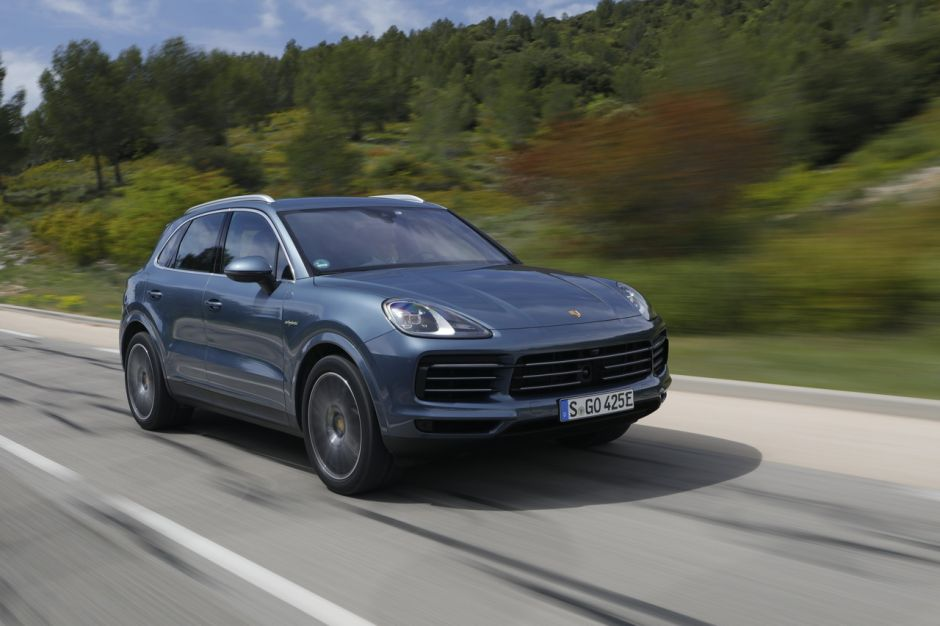 essai porsche cayenne e hybrid 2018 le test du cayenne hybride photo 9 l 39 argus. Black Bedroom Furniture Sets. Home Design Ideas