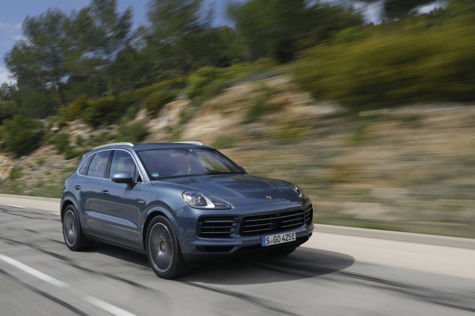 essai porsche cayenne e hybrid 2018 le test du cayenne hybride photo 41 l 39 argus. Black Bedroom Furniture Sets. Home Design Ideas
