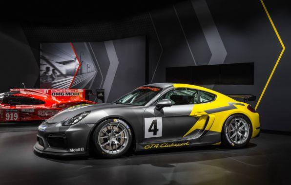 profil Porsche Cayman GT4 Clubsport
