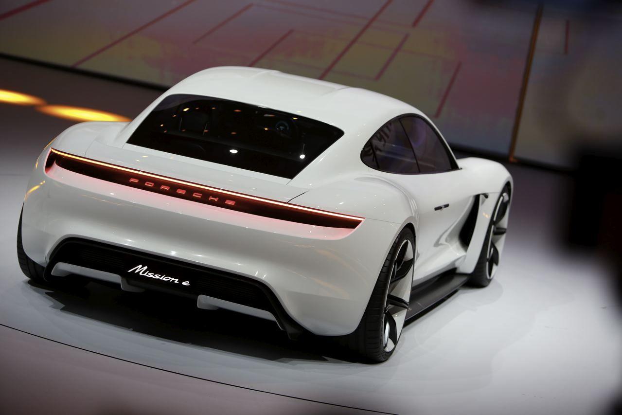 Porsche Mission E Le Concept 100 233 Lectrique De Porsche