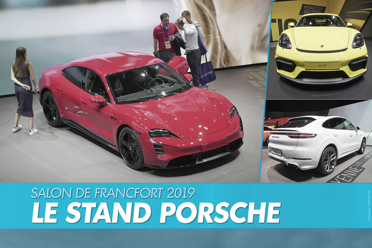 Top Porsche au salon de Francfort