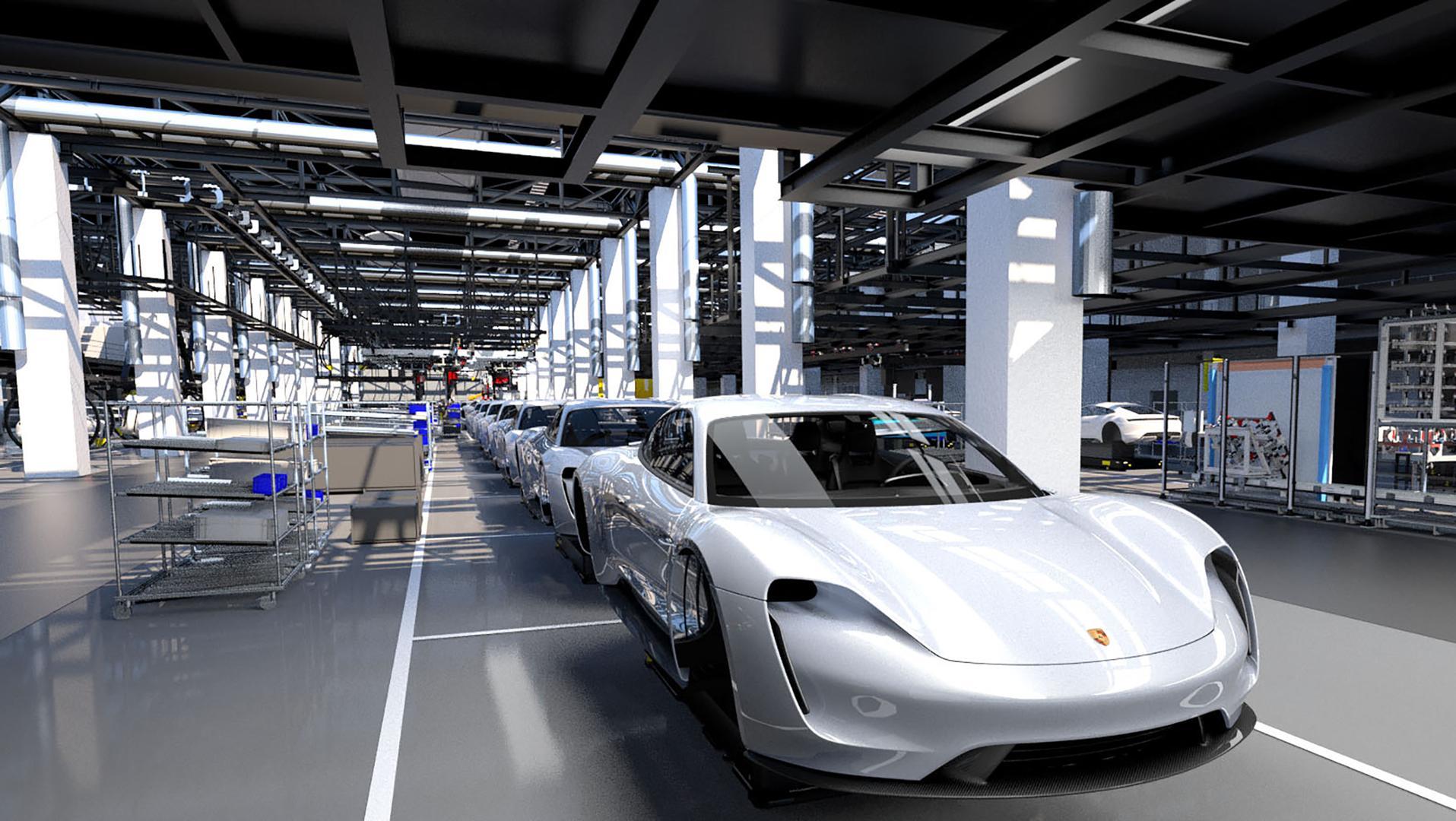 Porsche Taycan : et Porsche entre dans l'ère de l'électromobilité !