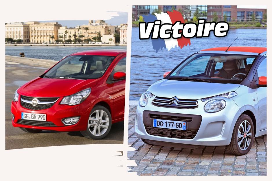 prk 2018 les voitures allemandes plus ch res que les fran aises citro n c1 vs opel karl. Black Bedroom Furniture Sets. Home Design Ideas
