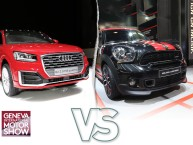 Audi Q2 (2016) vs Mini Countryman : le match de SUV urbains premiums