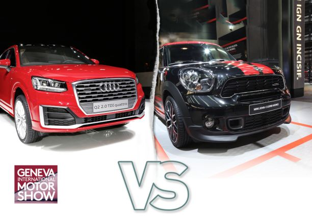 Audi Q2 VS Mini Countryman