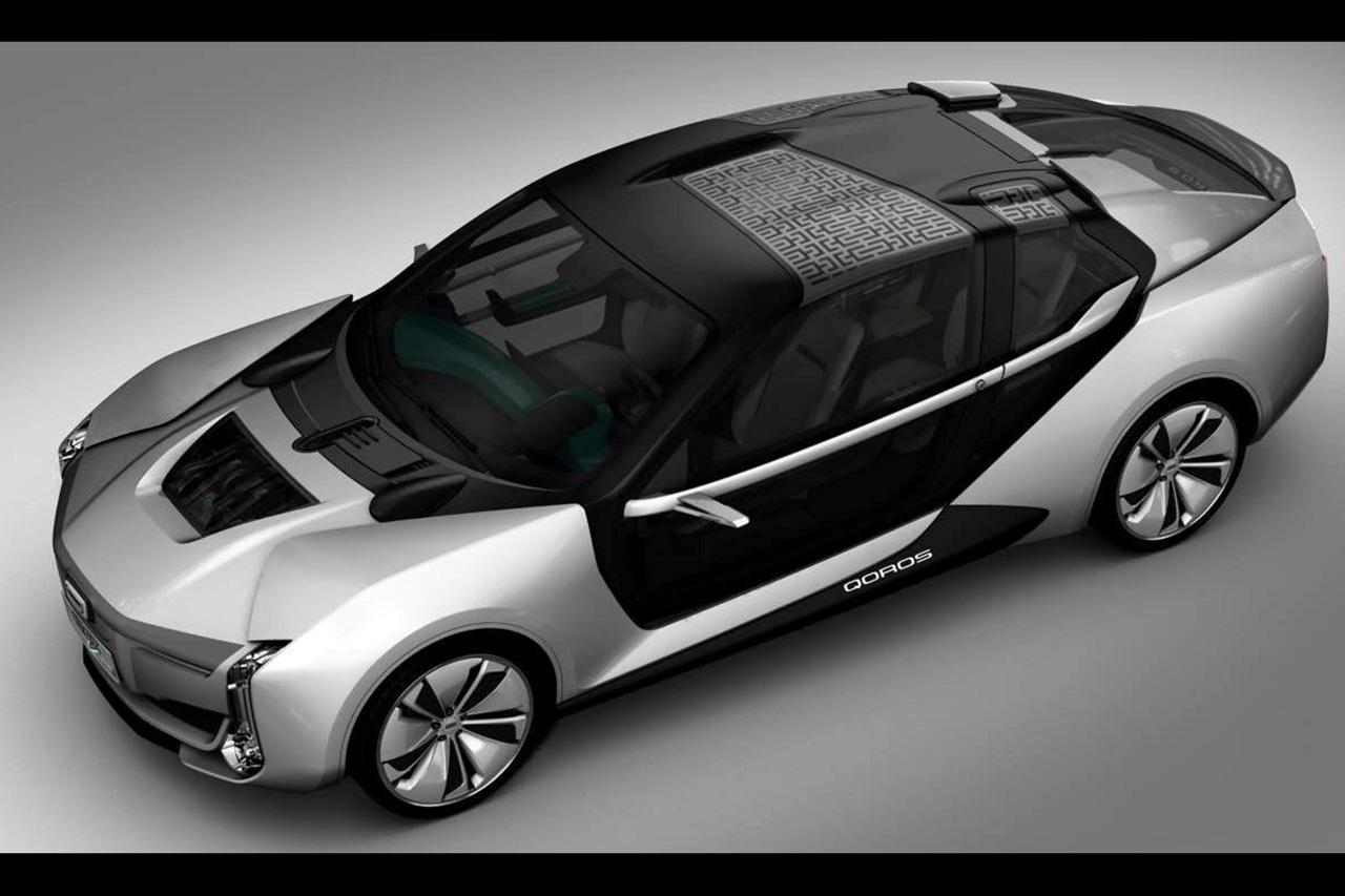 qoros k ev une berline lectrique con ue avec koenigsegg qoros auto evasion forum auto. Black Bedroom Furniture Sets. Home Design Ideas