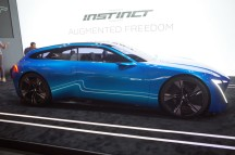 Concept Peugeot Instinct Mobile World congress barcelone 2017