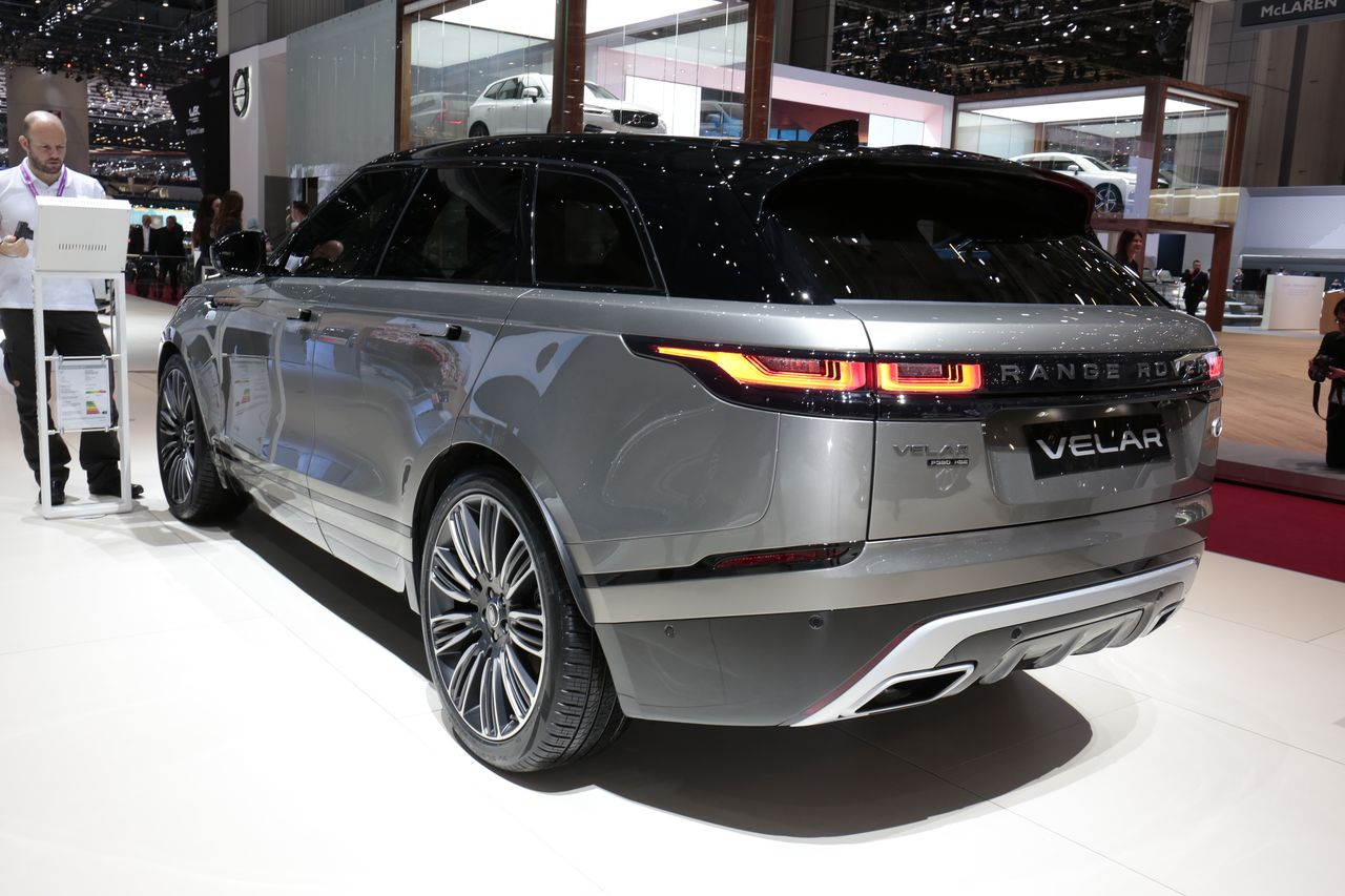 range rover velar le match face aux suv sportifs photo 34 l 39 argus. Black Bedroom Furniture Sets. Home Design Ideas
