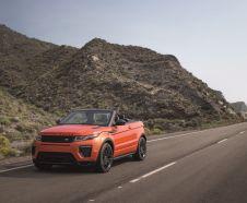 Range Rover Evoque Cabriolet 3/4 avant, offre de lancement