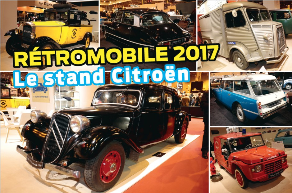 Retromobile 2017: the Citroën stand in pictures