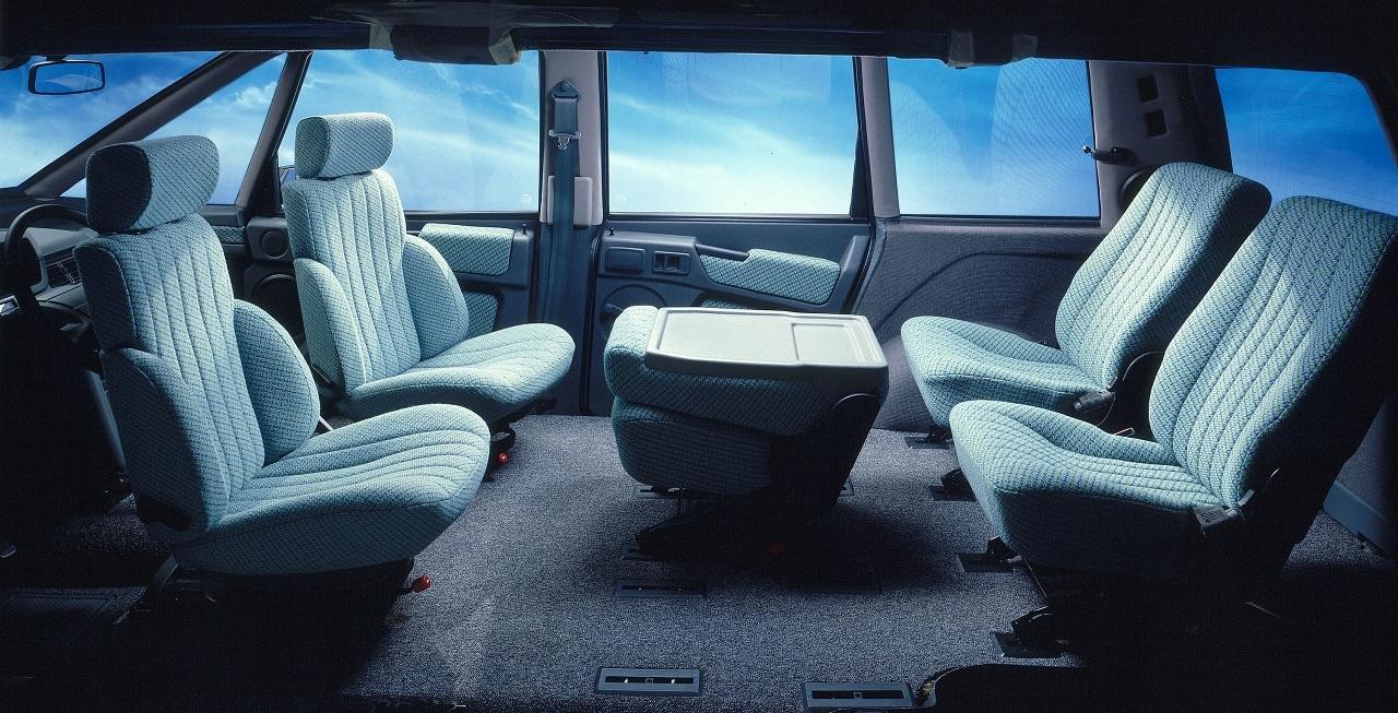saga renault espace retour sur 35 ans d 39 histoire automobile int rieur renault espace 1 l 39 argus. Black Bedroom Furniture Sets. Home Design Ideas