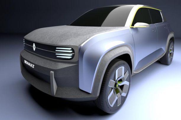 Renault 4 Prototype 2021 image de synthèse