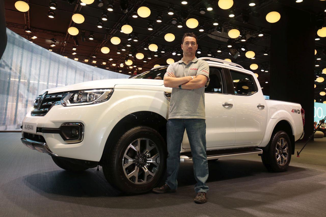Jaguar Land Rover >> Renault Alaskan : le pick-up Renault présent au Mondial de ...