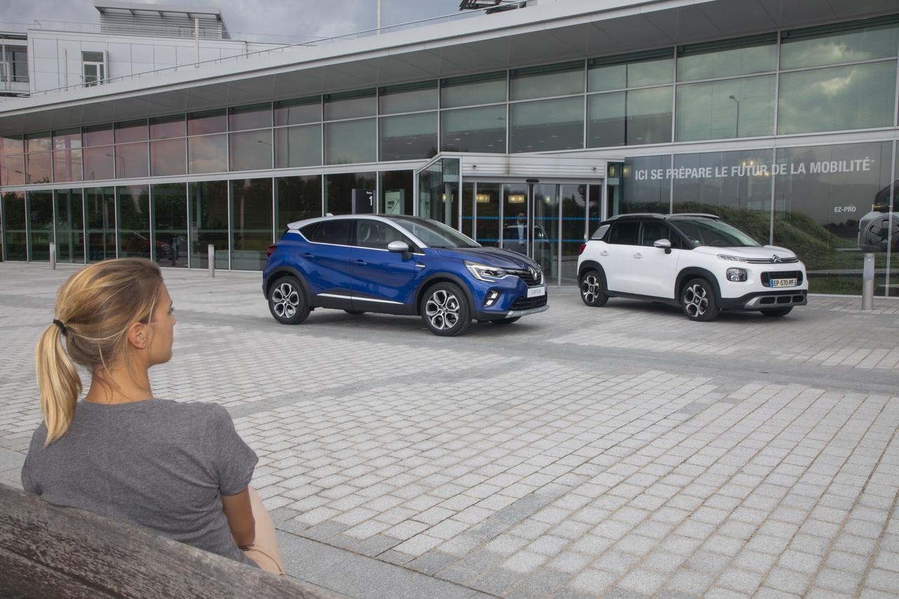 Renault Captur 2 vs Citroën C3 Aircross : premier match en vidéo