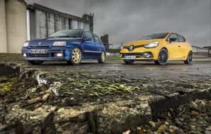 Renault Clio Williams vs Clio RS Trophy : le match en 40 photos