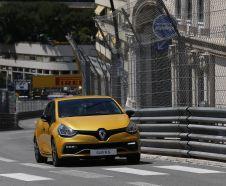 Renault Clio RS Trophy sur le circuit de Monaco