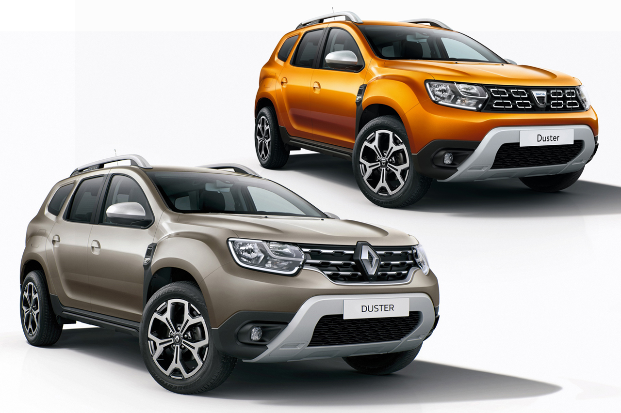 dacia duster 2 vs renault duster 2 les diff rences photo 1 l 39 argus. Black Bedroom Furniture Sets. Home Design Ideas