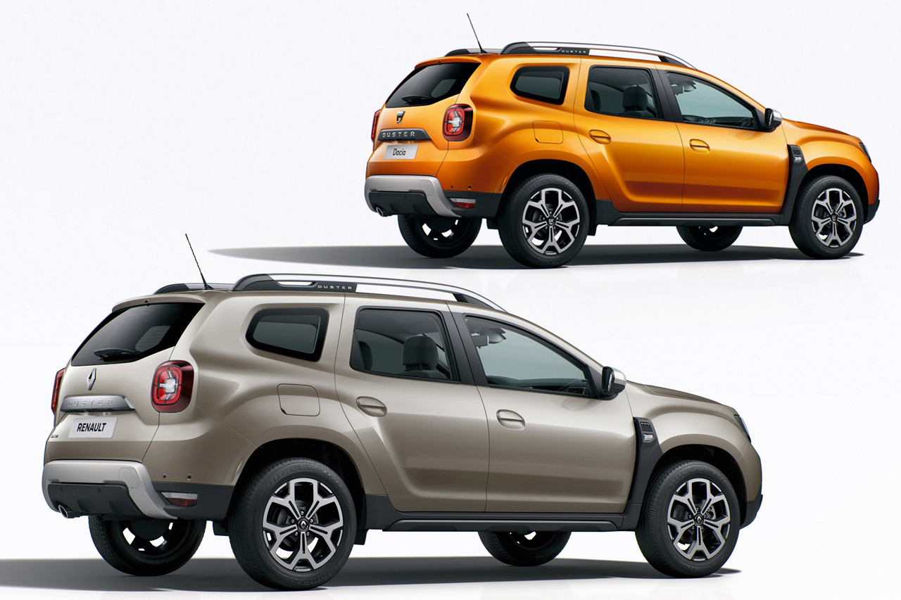 dacia duster 2 vs renault duster 2 les diff rences. Black Bedroom Furniture Sets. Home Design Ideas