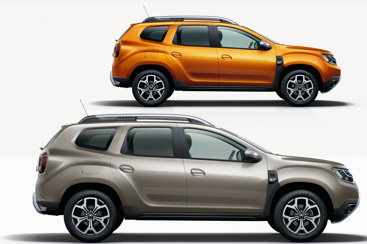 dacia duster 2 vs renault duster 2 les diff rences photo 5 l 39 argus. Black Bedroom Furniture Sets. Home Design Ideas