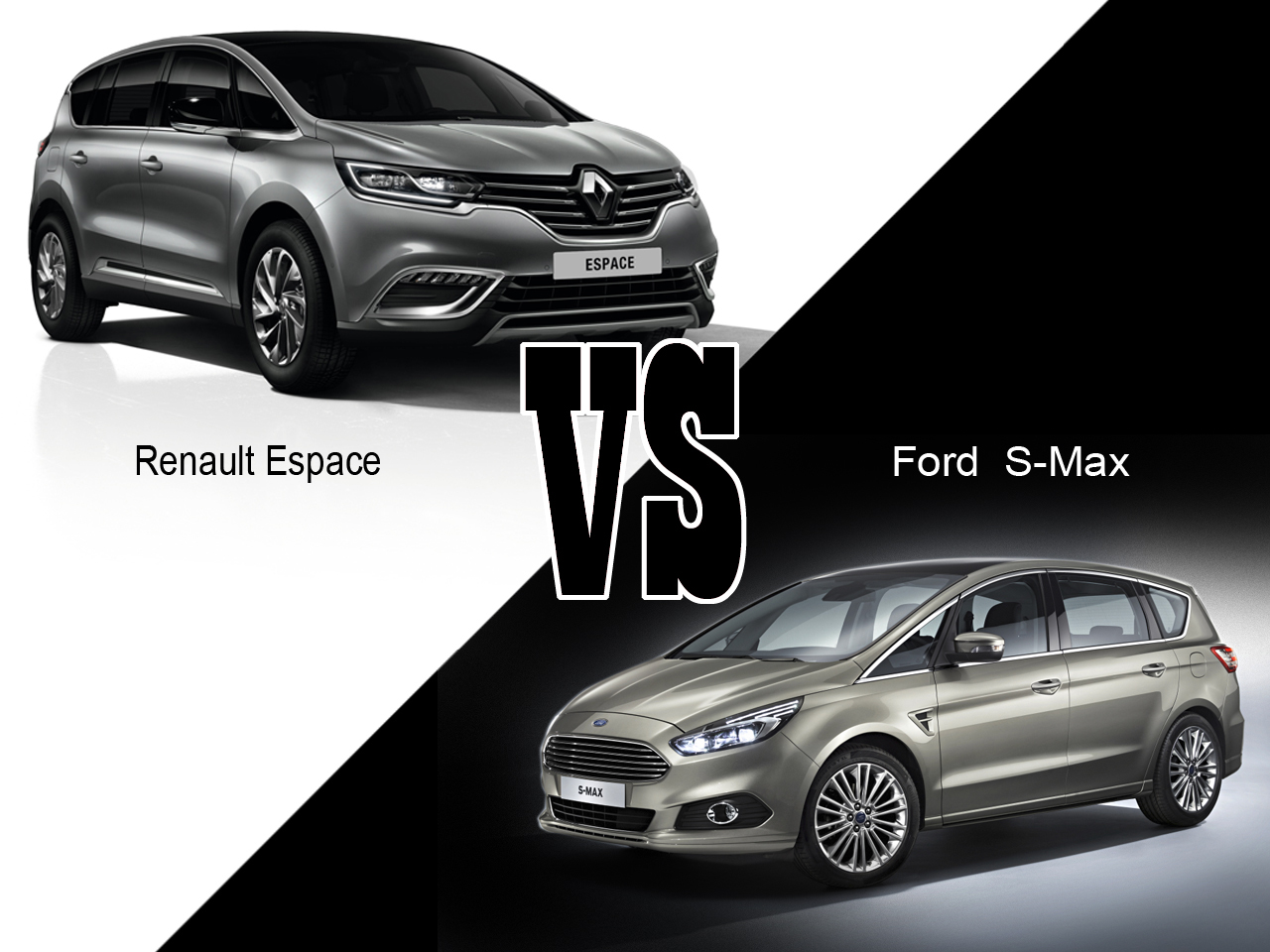 renault espace 5 vs ford s max 2015 le match des. Black Bedroom Furniture Sets. Home Design Ideas