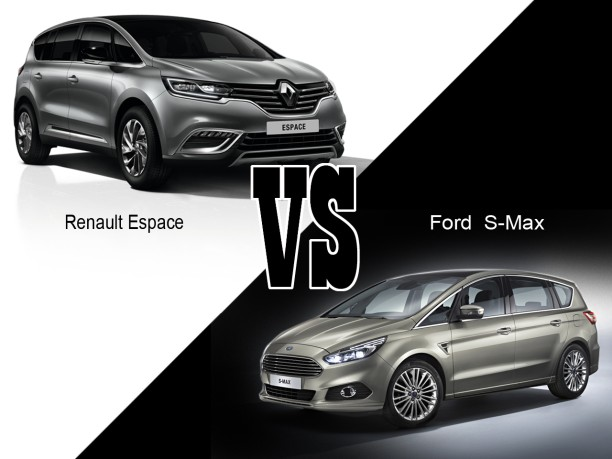 renault espace 5 vs ford s max 2015 le match des monospaces sportifs l 39 argus. Black Bedroom Furniture Sets. Home Design Ideas