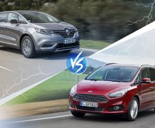 Renault Espace 5 vs Ford S-Max 2015