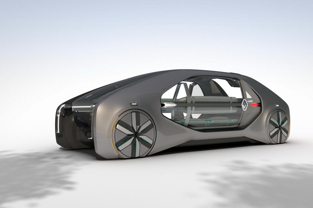 Renault Ez Go Concept Le Robot Taxi Autonome Au Salon De
