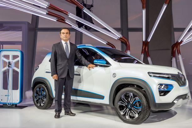 Renault K Ze Un Concept De Kwid Electrique Au Mondial De L Auto