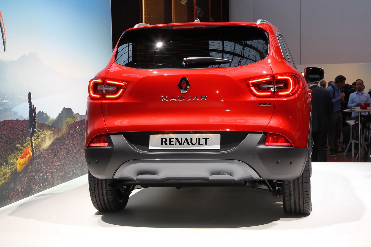 renault kadjar bient t les prix d j des quipements photo 7 l 39 argus. Black Bedroom Furniture Sets. Home Design Ideas