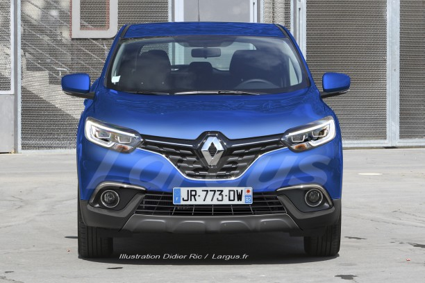 renault kadjar 2018 nos indiscr tions sur la version restyl e l 39 argus. Black Bedroom Furniture Sets. Home Design Ideas