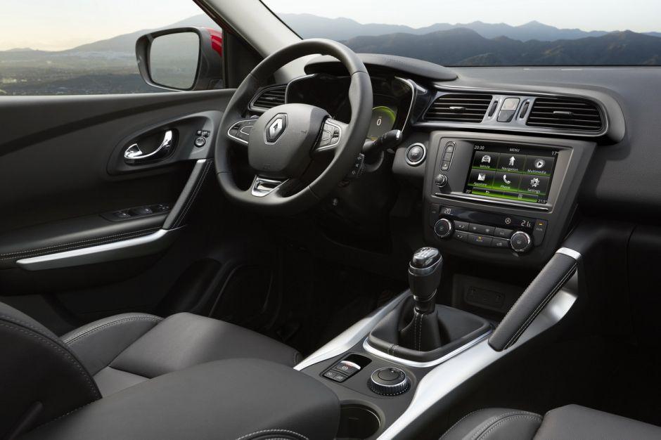 Renault kadjar les premi res photos et infos officielles for Interieur renault kadjar