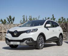 Vue avant Renault Kadjar Edition One blanc
