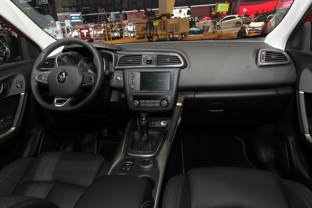 Photo interieur renault kadjar for Interieur renault kadjar