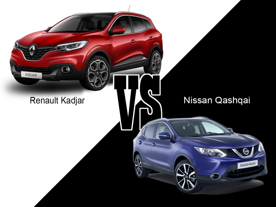 renault kadjar vs nissan qashqai duel serr photo 1 l 39 argus. Black Bedroom Furniture Sets. Home Design Ideas