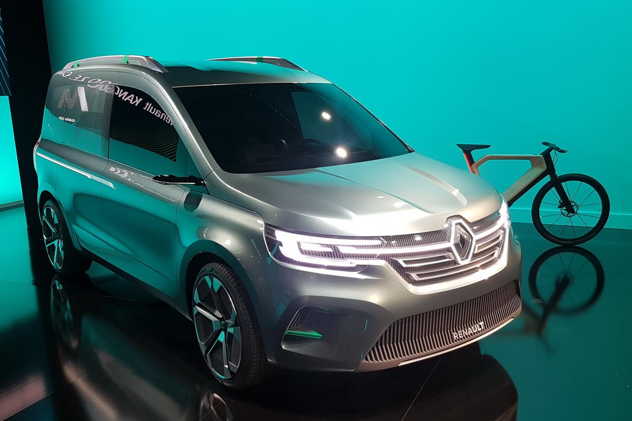 Renault Kangoo Z.E Concept. 1ères photos du nouveau Kangoo 2020