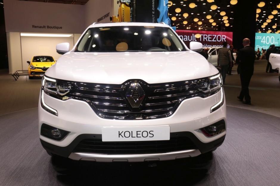 Renault koleos initiale paris au mondial 2016 for Argus koleos