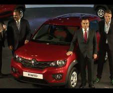 Renault Kwid Carlos Ghosn et Laurens Van der Acker