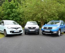Renault Twingo Renault Kwid Dacia Sandero Stepway