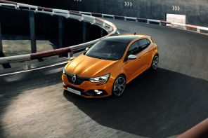 renault mégane RS 4 orange